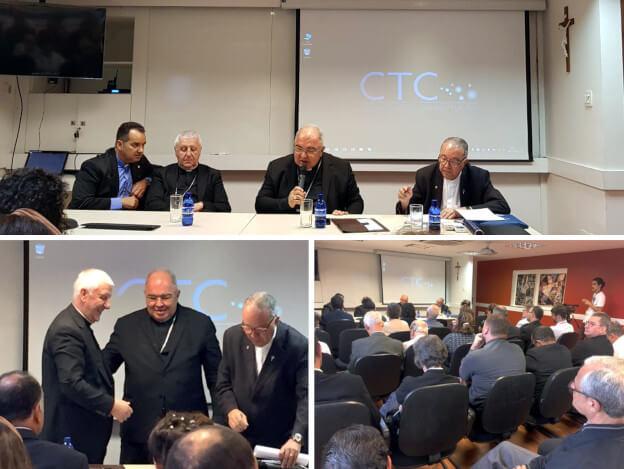 Visita do Prefeito da Congregação para a Educação Católica da Santa Sé